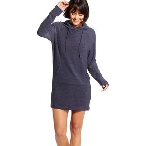 good hYOUman Perfectly Imperfect Hooded Dress S